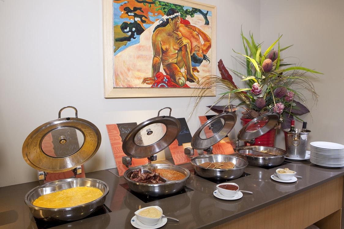 Buffet breakfast Le Lagon Hotel