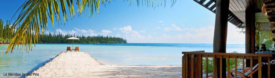 Le Meridien Ile des Pins - Bungalow Ocean front