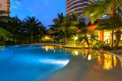 Swimming pool at night - Ramada Plaza