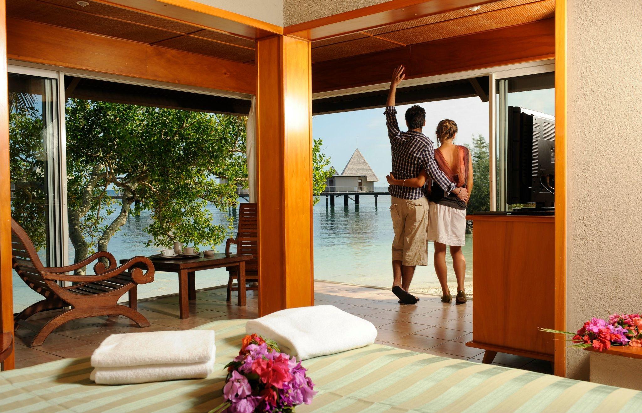 Escapade Island beach bungalow