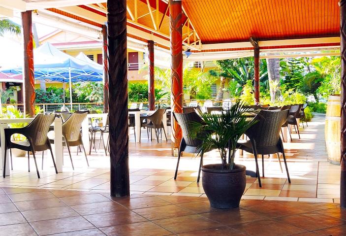 Terrace - Koniambo Hotel