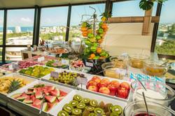 Restaurant buffet breakfast