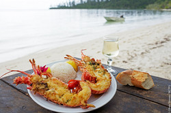 Lobster Lunch in Isle of Pines