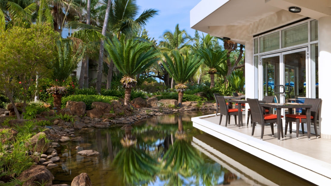 Garden - Sextant Restaurant