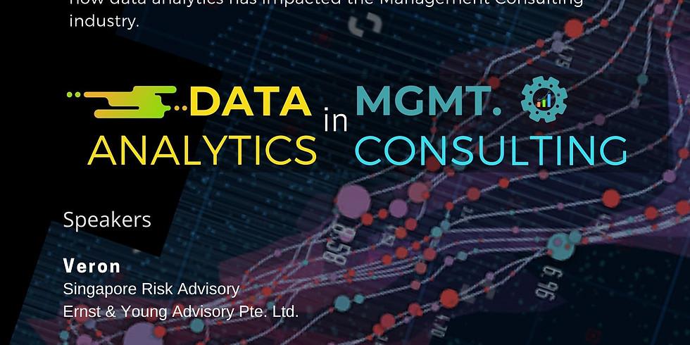 Data Analytics in Management Consulting | Meetups@NUS 2