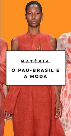 O Pau-Brasil e a Moda