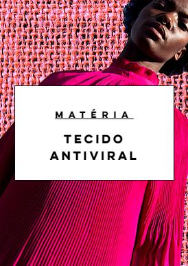 Tecido antiviral: uma tendência que associao papel da moda à saúde