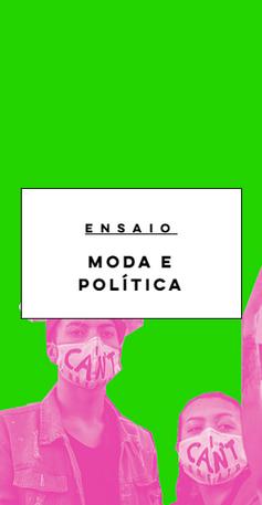 Moda e Política