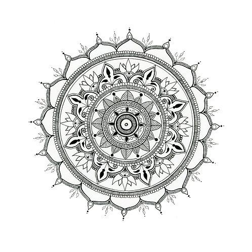 Mandala 1 Print