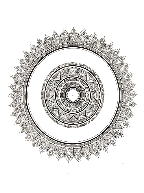 Large Mandala Print