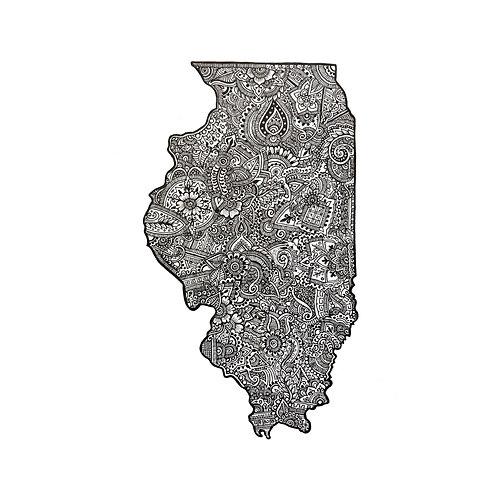 Illinois Print