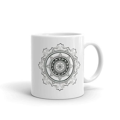 Opposite Mandala Mug