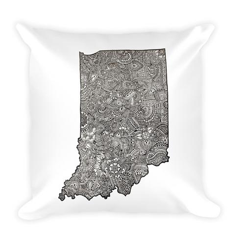 'Indiana 3' Throw Pillow