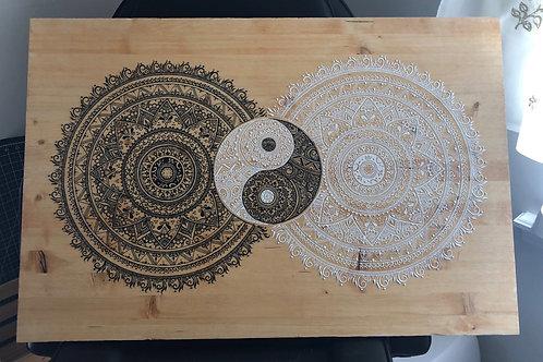 Yin-Yang Mandalas
