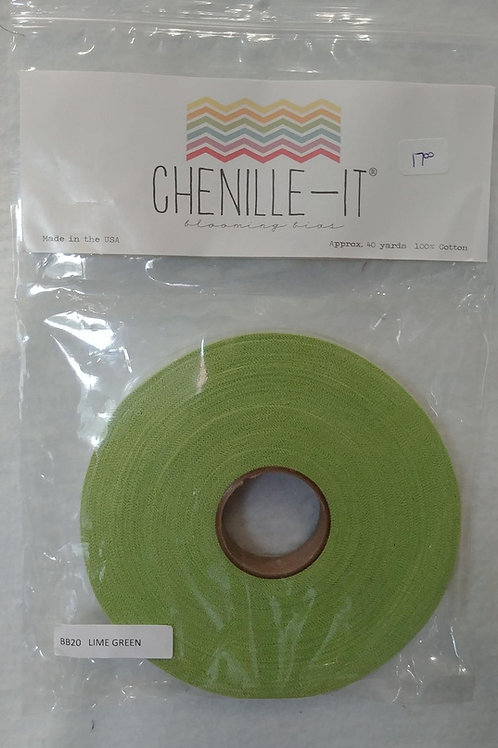 Lime Green Chenille-It
