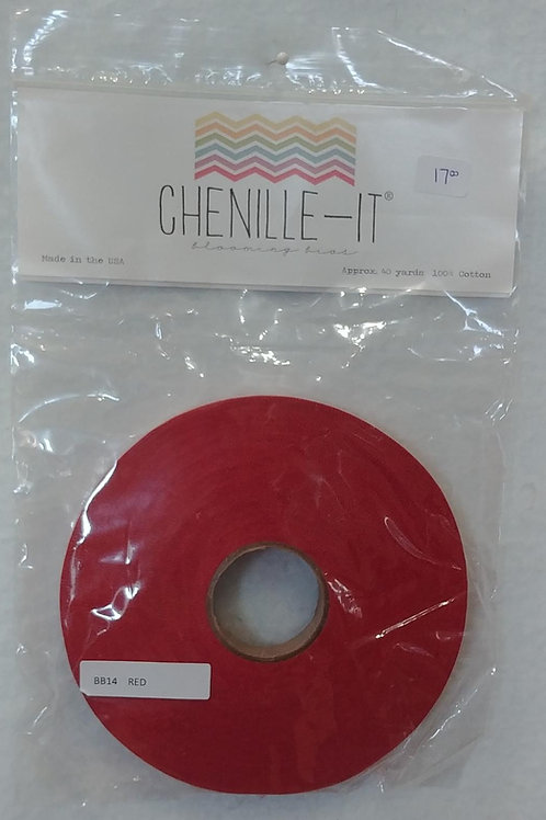 Red Chenille-It