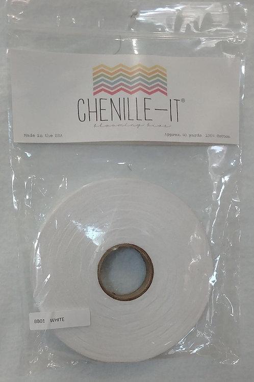 White Chenille-It