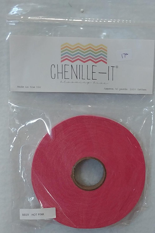 Hot Pink Chenille-It