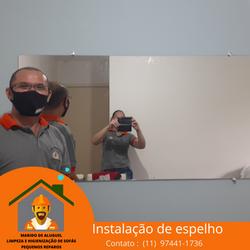 Instalação de Espelho em Guarulhos