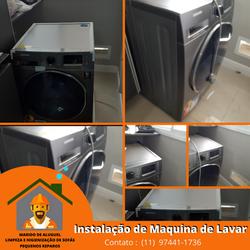 Instalação de Maquina de Lavar em Guarulhos