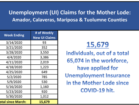 Mother Lode Job Training Awarded a Total of $885,000 to Assist with COVID-19 Pandemic