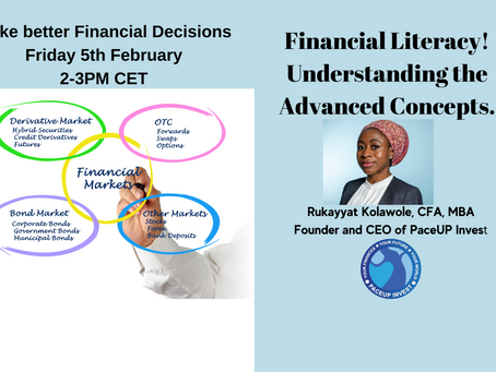 Financial Literacy Workshop! Understanding the Advanced Concepts.