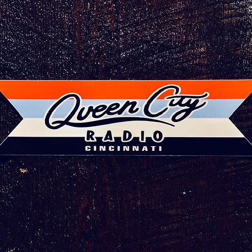 QCR Bumper Sticker Multi-color