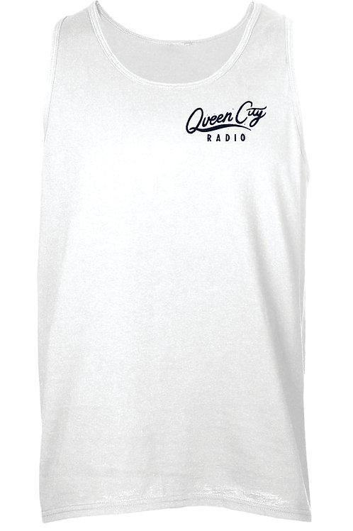 White Tank Cursive Logo