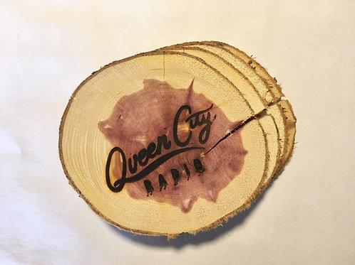 QCR Branded Coaster Set