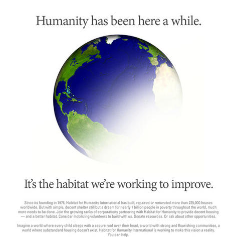 Habitat for Humanity Advertisement