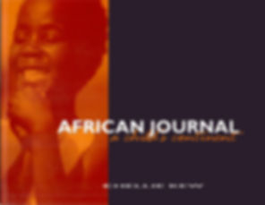 African Journal Book Cover Design and Publishing