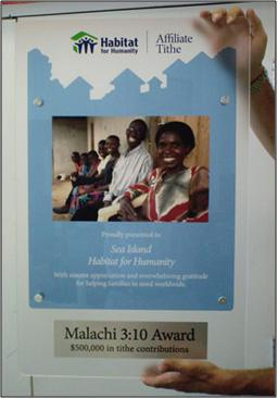 Affiliate Tithe Award