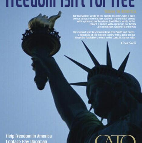 Cato Institute Ad
