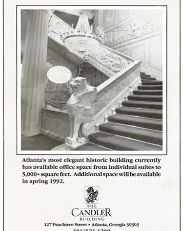The Candler Building Ad