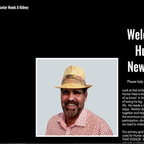 Hunters New Kidney Website