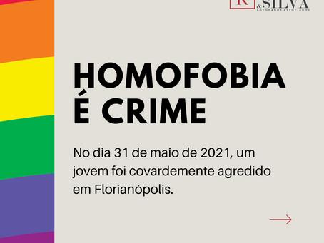 Jovem gay é gravemente agredido em Florianópolis