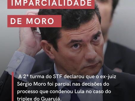 (IM)PARCIALIDADE DE MORO