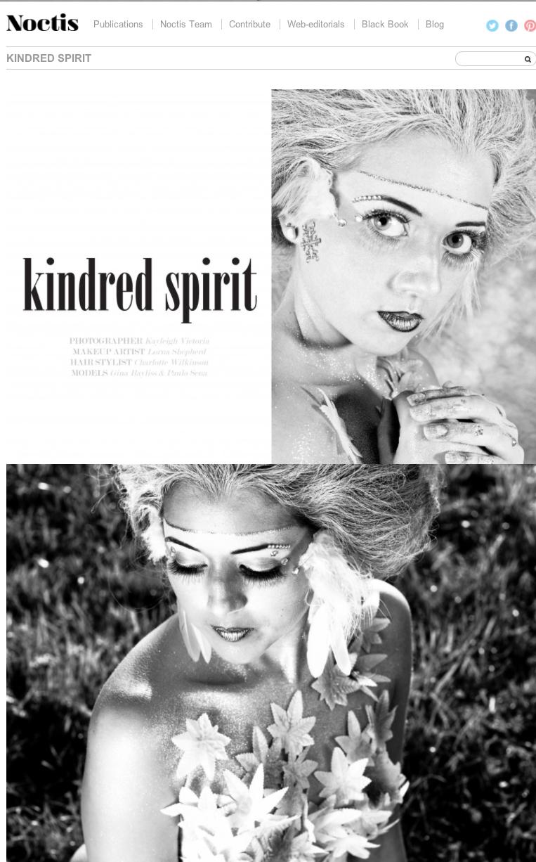 Noctis Magazine Page 1