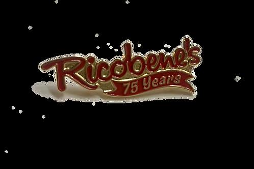 Celebrating 75 Years Pin