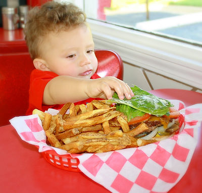 Burger Frest Cut Fries