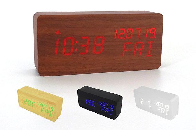 3rd Gen Wood Style Digital Clock WD69-3