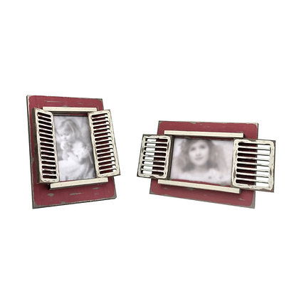 'Burano Style' Photo Frame (Vintage Red)