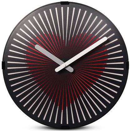 'Beating Heart' Zoetrope Clock