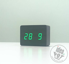 Wood Style Digital Clock