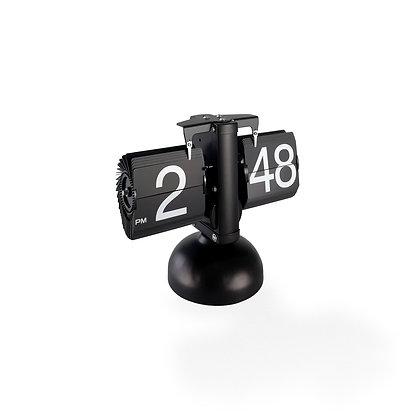 Frameless Desktop Flip Clock (Black Finish)