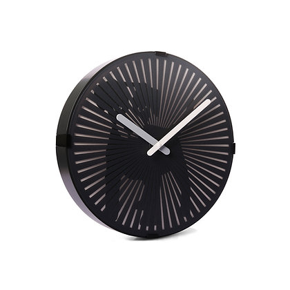 'Wagging Tail Dog' Animated Zoetrope Clock