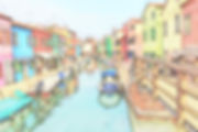 Street View At Burano (Colour Sketch).jp