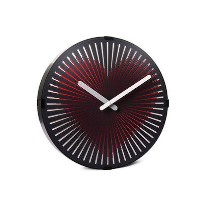 'Beating Heart' Zoetrope Clock