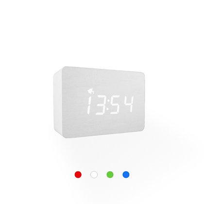 Wood Style Digital Clock WD24-3 White Ash Finish