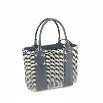 mezzoのバッグはインドネシアのバリ島で手作り, 天然素材にこだわったバッグ, メゾのカゴバッグはレザーとラタンの組み合わせ, leather, basket, made in Indonesia, カゴトート